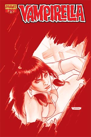 Vampirella Vol 4 #29 High-End Fabiano Neves Blood Red Ultra-Limited Cover (ONLY 25 COPIES IN EXISTENCE!)