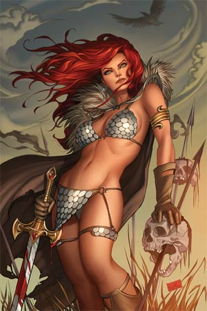 Red Sonja Vol 5 #1 Cover L Midtown Exclusive Nei Ruffino Virgin Ultra-Limited Cover (Limit 1 Per Customer)