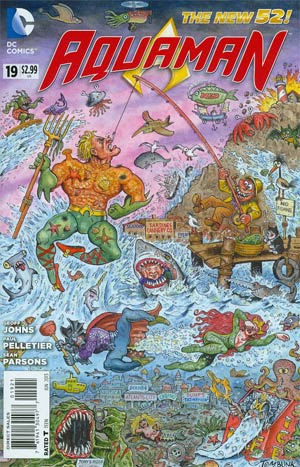 Aquaman Vol 5 #19 Incentive MAD Magazine Variant Cover