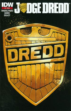 Judge Dredd Vol 4 #1 2nd Ptg