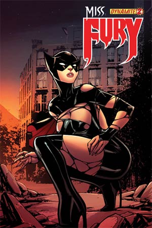 Miss Fury Vol 2 #2 Incentive Alex Garza Risque Variant Cover