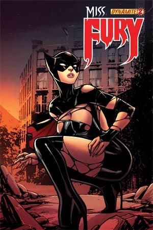 Miss Fury Vol 2 #2 Incentive Alex Garza Risque Variant Cover