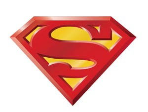 DC Car Magnet - Superman logo