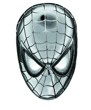 Marvel Pewter Lapel Pin - Spider-Man Head