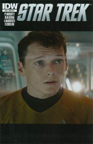 Star Trek (IDW) #20 Incentive Photo Variant Cover