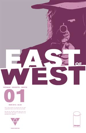 East Of West #1 3rd Ptg