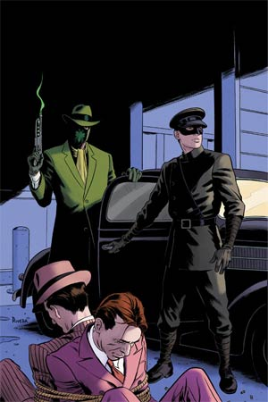 Mark Waids Green Hornet #2 Incentive Paolo Rivera Virgin Cover