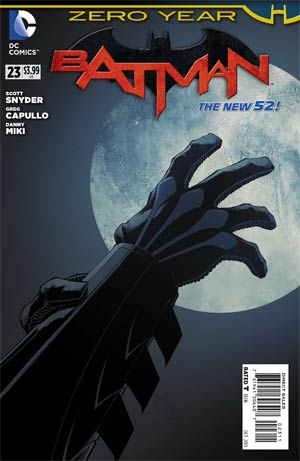 Batman Vol 2 #23 Cover A Regular Greg Capullo Cover (Batman Zero Year Tie-In)
