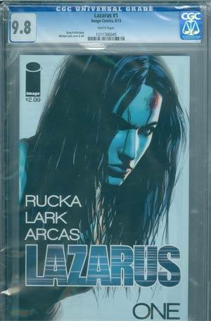 Lazarus #1 Cover D DF CGC 9.8
