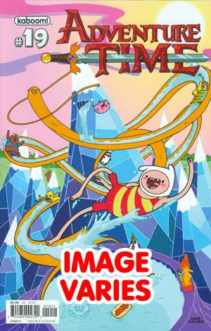 DO NOT USE (DUPLICATE LISTING) Adventure Time #19 Regular Cover (Filled Randomly With 1 Of 2 Covers)