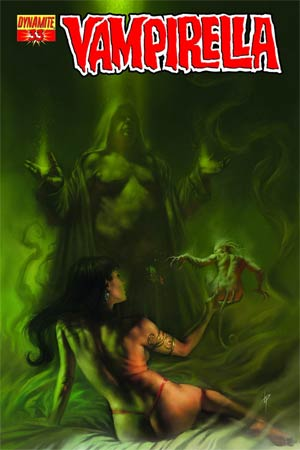 Vampirella Vol 4 #33 Cover B Lucio Parrillo