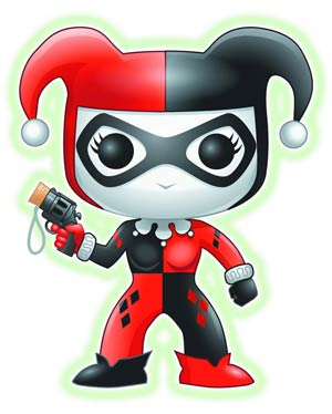 POP Heroes Harley Quinn Previews Exclusive Glow-In-The-Dark Vinyl Figure