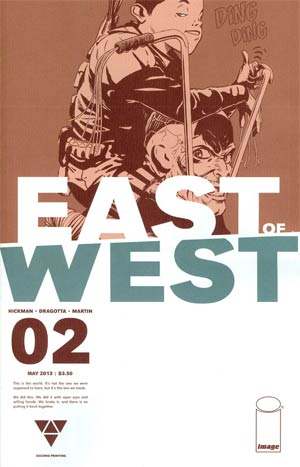 East Of West #2 2nd Ptg
