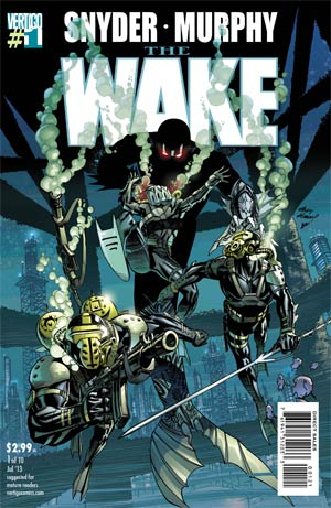 Wake #1 Cover B Incentive Adam Kubert Variant Cover