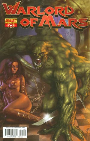 Warlord Of Mars #25 Regular Lucio Parrillo Cover