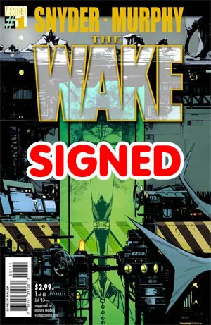 Wake #1 Cover C Regular Sean Murphy Cover Signed By Scott Snyder & Sean Murphy
