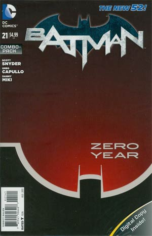 Batman Vol 2 #21 Cover C Combo Pack Without Polybag (Batman Zero Year Tie-In)