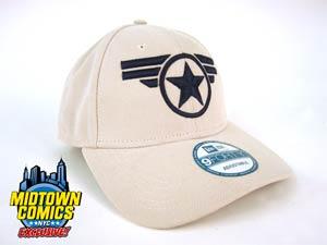 Captain America Symbol Good Ol Steve Official Stone Midtown Exclusive Adjustable Cap