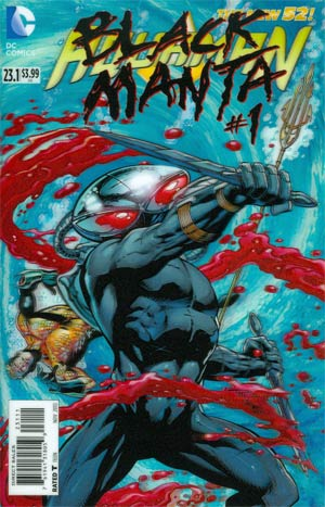 Aquaman Vol 5 #23.1 Black Manta Cover A 1st Ptg 3D Motion Cover