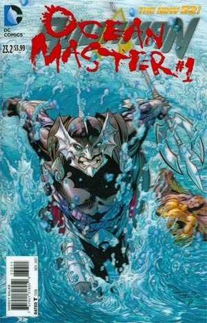 Aquaman Vol 5 #23.2 Ocean Master Cover A 3D Motion Cover