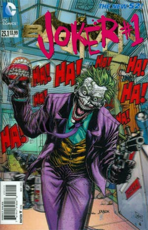 Batman Vol 2 #23.1 Joker Cover A 1st Ptg 3D Motion Cover