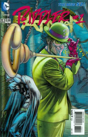 Batman Vol 2 #23.2 Riddler Cover A 3D Motion Cover