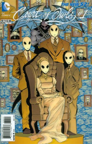 Batman And Robin Vol 2 #23.2 Court Of Owls Cover A 1st Ptg 3D Motion Cover
