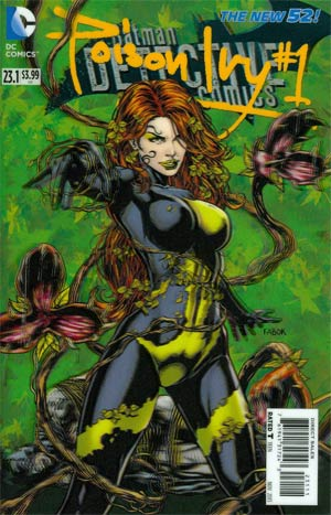 Detective Comics Vol 2 #23.1 Poison Ivy Cover A 3D Motion Cover