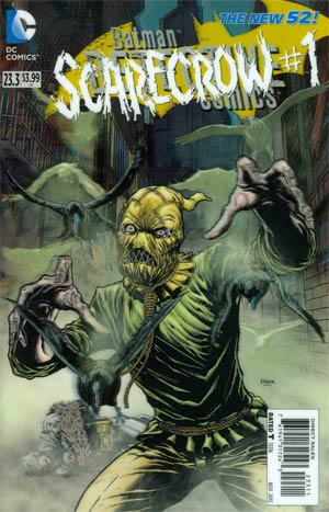 Detective Comics Vol 2 #23.3 Scarecrow Cover A 3D Motion Cover