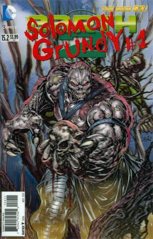 Earth 2 #15.2 Solomon Grundy Cover A 3D Motion Cover