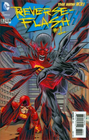 Flash Vol 4 #23.2 Reverse-Flash Cover A 1st Ptg 3D Motion Cover