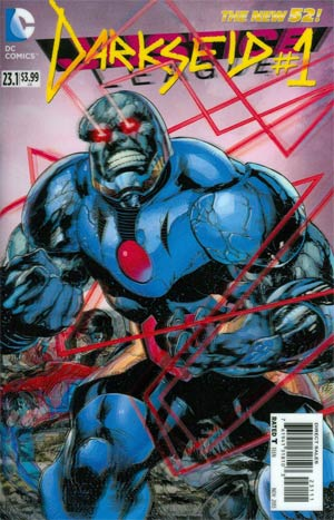 Justice League Vol 2 #23.1 Darkseid Cover A 1st Ptg 3D Motion Cover