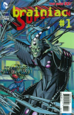 Superman Vol 4 #23.2 Brainiac Cover A 1st Ptg 3D Motion Cover