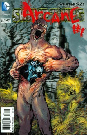 Swamp Thing Vol 5 #23.1 Arcane Cover A 1st Ptg 3D Motion Cover