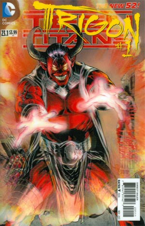 Teen Titans Vol 4 #23.1 Trigon Cover A 1st Ptg 3D Motion Cover