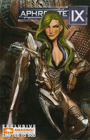 Aphrodite IX Vol 2 #2 Cover C Amazing Las Vegas Comic Con Variant Cover