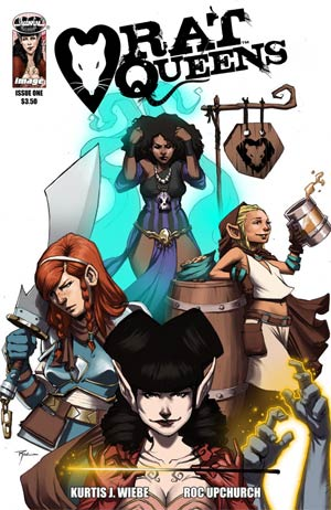Rat Queens #1 Cover A 1st Ptg Regular Roc Upchurch Cover