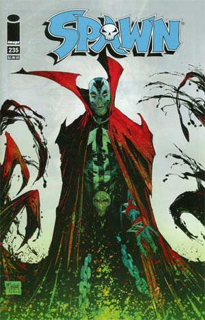 Spawn #235 Cover A Regular Todd McFarlane Cover