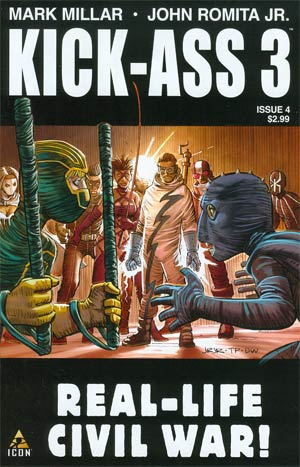 Kick-Ass 3 #4 Cover A Regular John Romita Jr Cover