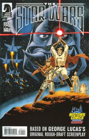 Star Wars The George Lucas Draft #1 Cover D Midtown Exclusive John Cassaday Variant Cover