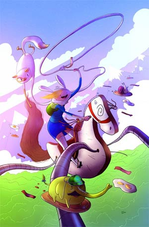 Adventure Time Fionna & Cake #1 Cover K Calgary Exclusive Variant Cover