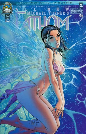 All New Fathom #3 Cover B Regular Aspen Reserved Cover
