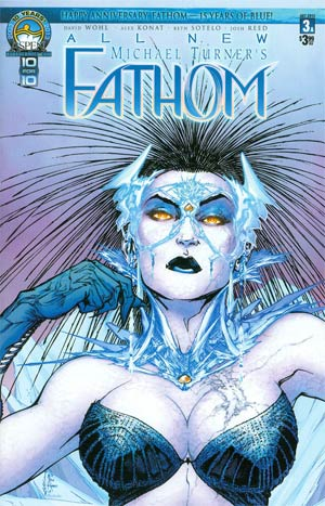 All New Fathom #3 Cover A Regular Direct Market Cover