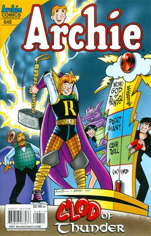 Archie #648 Cover A Regular Fernando Ruiz Cover