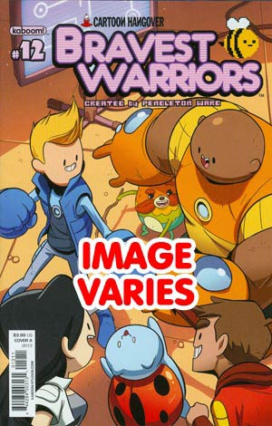 DO NOT USE Bravest Warriors #12 Regular Cover (Filled Randomly With 1 Of 2 Covers)