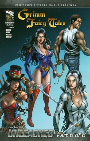 Grimm Fairy Tales Giant-Size 2013 Cover B Alfredo Reyes (Unleashed Part 6)