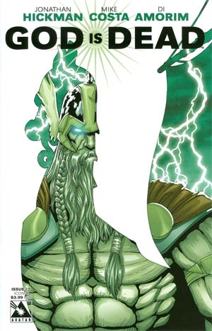 God Is Dead #1 Cover C Iconic Cvr