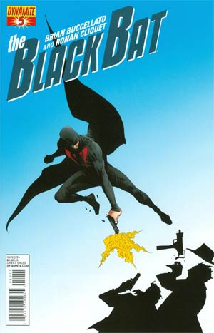 Black Bat #5 Cover A 1st Ptg Regular Jae Lee Cover