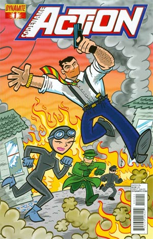 Codename Action #1 Cover F Variant Art Baltazar Subscription Cover