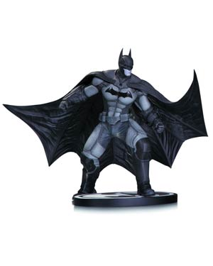 Batman Black & White Series Batman Arkham Origins Mini Statue